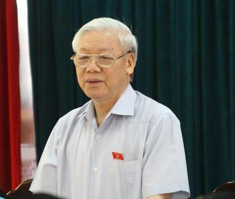 Tong Bi thu: Kiem diem rat nghiem tuc nhung xin rut kinh nghiem - Anh 1
