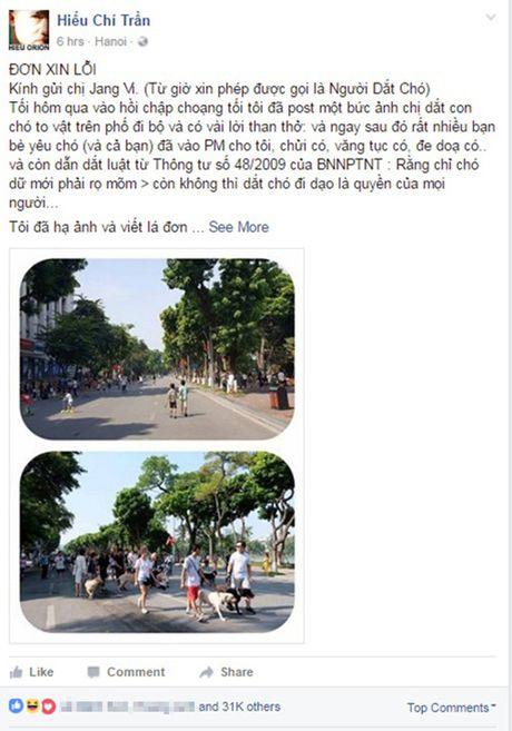Het hon canh cho tha rong doa can nguoi o pho di bo HN - Anh 1