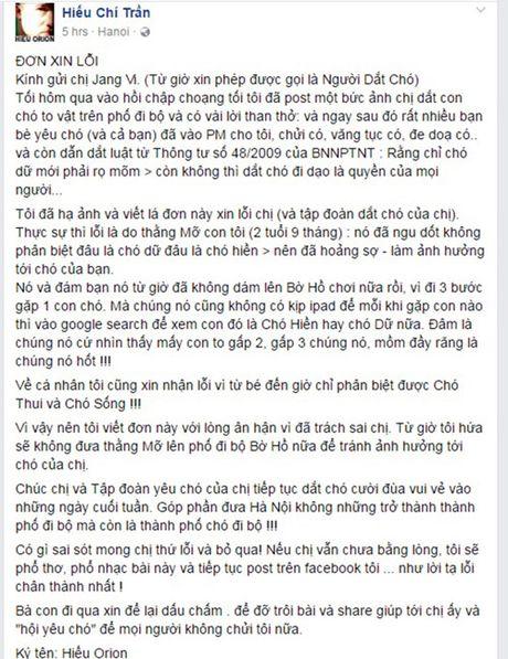Het hon canh cho tha rong doa can nguoi o pho di bo HN - Anh 2