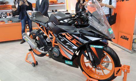 Xe do KTM RC390 xuat hien tai duong dua Viet Nam - Anh 1