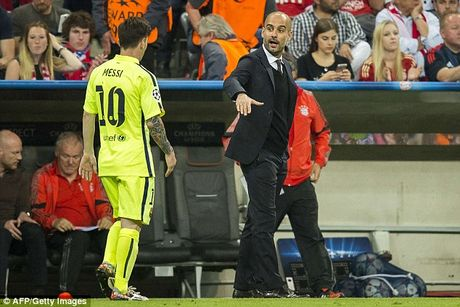 Luot 3 vong bang Champions League: Pep Guardiola doi dau Barca - Anh 1