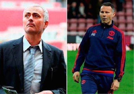 Mourinho phan phao Giggs, noi lai cho ro ve Rooney - Anh 1