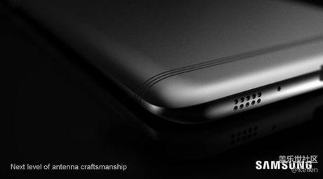 Lo anh render smartphone Samsung Galaxy C9: diem nhan dai ang-ten doc dao - Anh 4