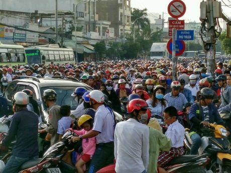 Chon chan, dam nuoc tren duong Huynh Tan Phat - Anh 7