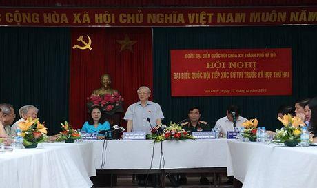 Tong Bi thu: 'Phai nghi den cai chung, noi khong lam se mat uy tin' - Anh 2