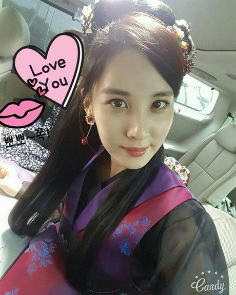 Sao Han 17/10: Hyo Min khoe dang chuan mau, Ji Hyo (Twice) mat do bat thuong - Anh 5