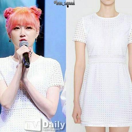 Idol Han dua nhau mac san pham Jessica thiet ke - Anh 10