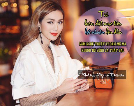 """Khanh My: """"Toi chua nghi den tinh huong doi mat voi Ngoc Trinh"""" - Anh 1"""