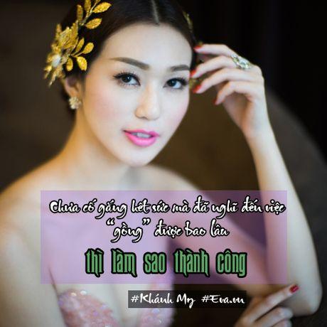 """Khanh My: """"Toi chua nghi den tinh huong doi mat voi Ngoc Trinh"""" - Anh 2"""