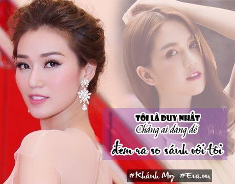 """Khanh My: """"Toi chua nghi den tinh huong doi mat voi Ngoc Trinh"""" - Anh 4"""