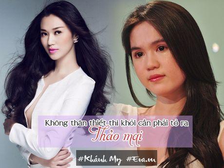 """Khanh My: """"Toi chua nghi den tinh huong doi mat voi Ngoc Trinh"""" - Anh 6"""