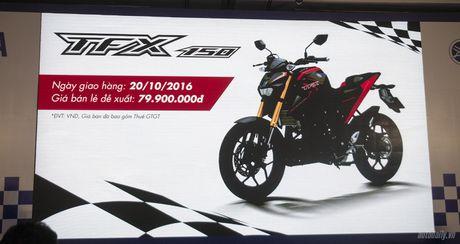 Yamaha TFX150 co gia 79,9 trieu dong, giao xe ngay 20/10 - Anh 1