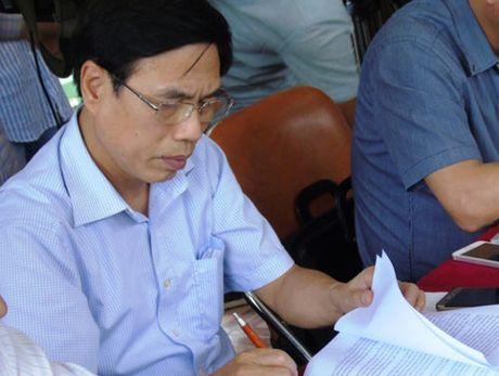 Bo Cong thuong kiem tra quy trinh xa lu Nha may thuy dien Ho Ho - Anh 2
