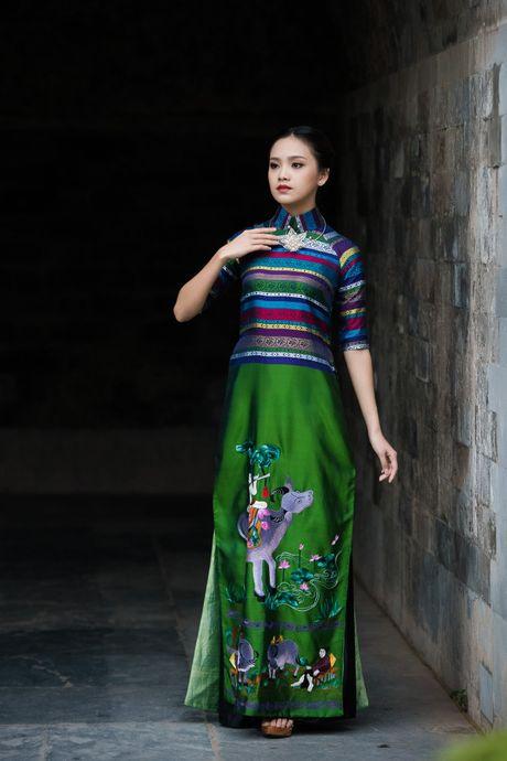 Festival Ao dai Ha Noi 2016: Nguoi thoi hon cho lua - Anh 1