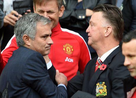 Mourinho triet tieu 'triet ly Van Gaal' tai M.U - Anh 1
