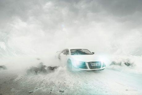 Su that kho tin dang sau nhung buc anh lung linh cua Audi R8 - Anh 4
