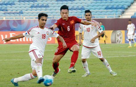 Cam hoa UAE trong the thieu nguoi, Viet Nam rong cua vao tu ket U19 chau A - Anh 1