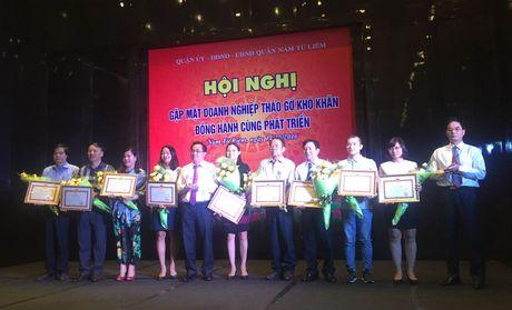 Nam Tu Liem go kho cung doanh nghiep - Anh 1