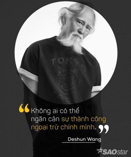 Deshun Wang: Tu cu ong U80 den bieu tuong moi cua lang mau hien dai - Anh 1