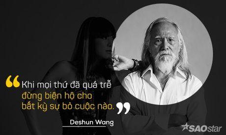 Deshun Wang: Tu cu ong U80 den bieu tuong moi cua lang mau hien dai - Anh 3