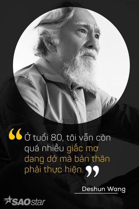 Deshun Wang: Tu cu ong U80 den bieu tuong moi cua lang mau hien dai - Anh 5