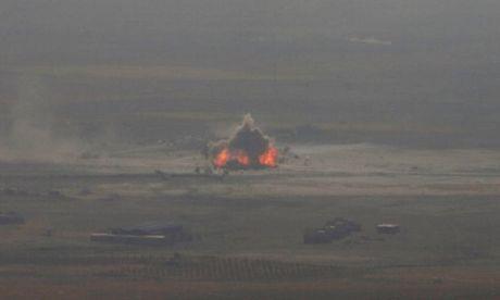 Iraq gianh thang loi dau tien trong cuoc chien giai phong Mosul khoi IS - Anh 1