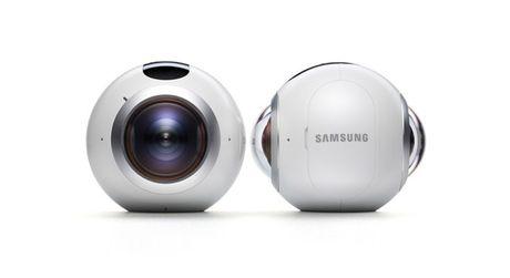 Don dau trao luu chup anh, quay video 360 do voi Samsung Gear 360 - Anh 1