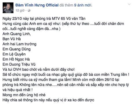 Cac sao Viet cung dang cung chung tay giup do dong bao lu lut mien Trung - Anh 2