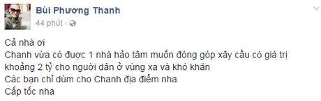 Cac sao Viet cung dang cung chung tay giup do dong bao lu lut mien Trung - Anh 4
