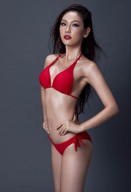 Ngam Nguyen Thi Loan, Phuong Linh bieu dien bikini - Anh 12