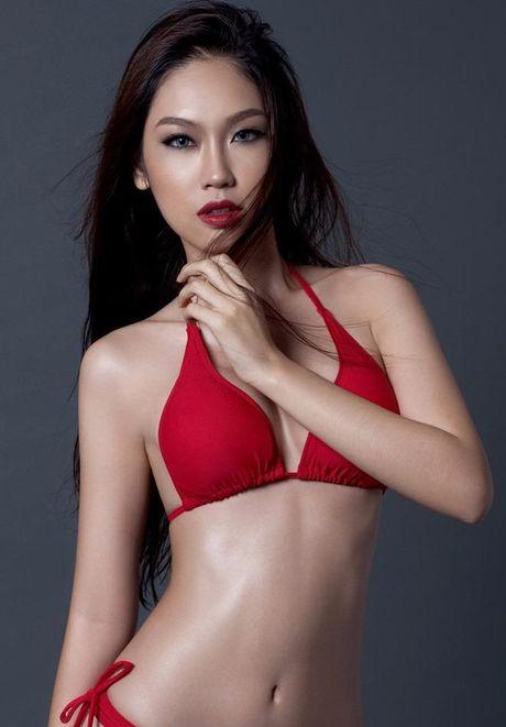 Ngam Nguyen Thi Loan, Phuong Linh bieu dien bikini - Anh 13