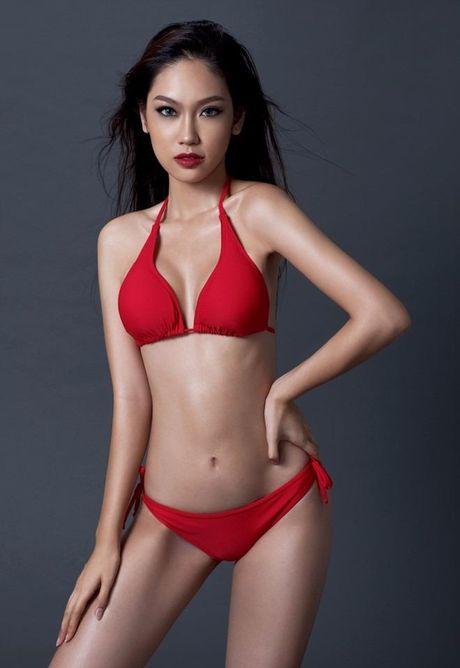 Ngam Nguyen Thi Loan, Phuong Linh bieu dien bikini - Anh 14