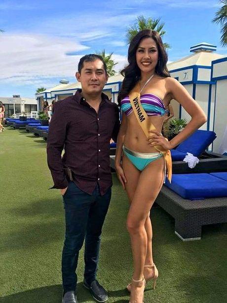 Ngam Nguyen Thi Loan, Phuong Linh bieu dien bikini - Anh 6