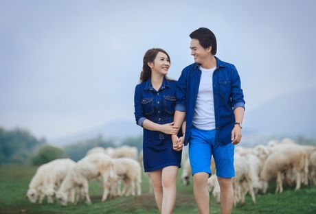 Anh cuoi lang man cua dien vien Cao Minh Dat - Anh 9