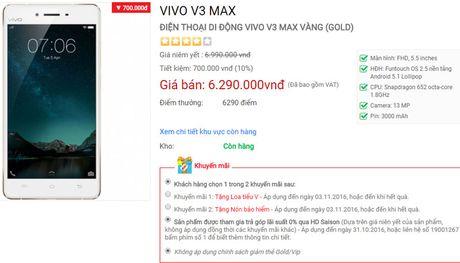 Vivo V3 va V3 Max giam gia soc - Anh 3