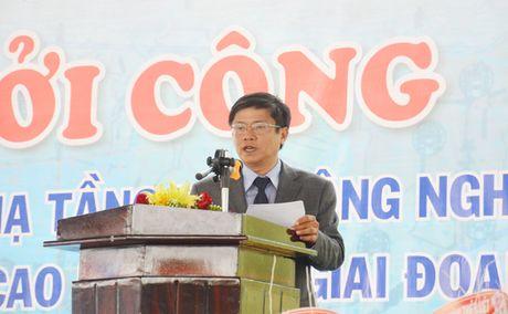 Phu Yen: Khoi cong xay dung Du an ha tang Khu nong nghiep ung dung cong nghe cao - Anh 2