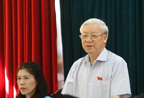 Tong Bi thu: 'Chong noi xam kho vi tu ta danh vao ta' - Anh 1
