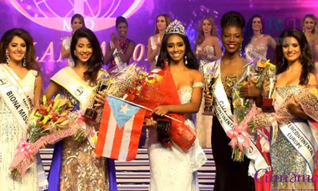 Nguoi dep Puerto Rico dang quang Hoa hau Lien luc dia 2016  - Anh 2