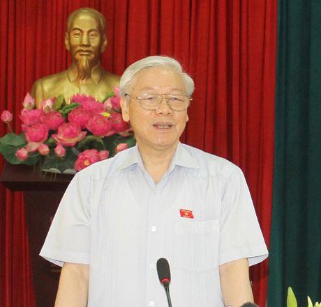 Tong Bi thu: Kien quyet thuc hien cho duoc viec phong chong tham nhung - Anh 1