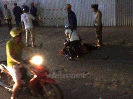 Ha Noi: Nan nhan roi tu cong truong duong sat tren cao da tu vong - Anh 1