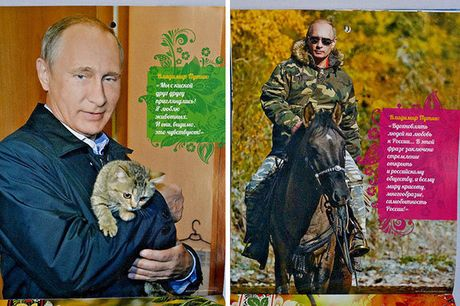 Nhung hinh anh chua tung thay ve Putin - Anh 1