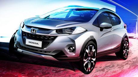 SUV do thi Honda WR-V xuat dau lo dien, canh tranh voi Ford EcoSport - Anh 1