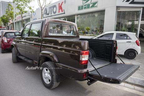 Can canh xe ban tai Uaz Pickup gia khoang 500 trieu Dong moi ve Viet Nam - Anh 10
