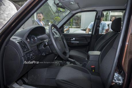 Can canh xe ban tai Uaz Pickup gia khoang 500 trieu Dong moi ve Viet Nam - Anh 14