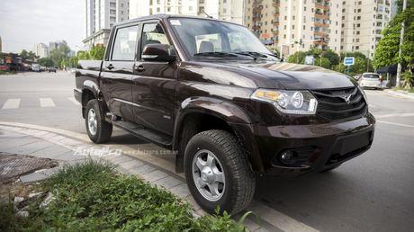 Can canh xe ban tai Uaz Pickup gia khoang 500 trieu Dong moi ve Viet Nam - Anh 1