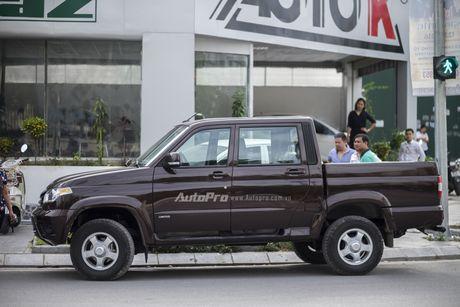 Can canh xe ban tai Uaz Pickup gia khoang 500 trieu Dong moi ve Viet Nam - Anh 2