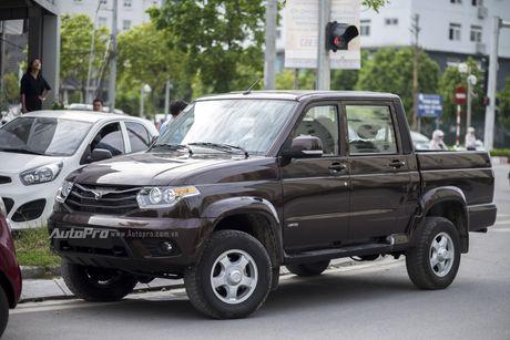 Can canh xe ban tai Uaz Pickup gia khoang 500 trieu Dong moi ve Viet Nam - Anh 3