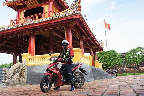 Honda Winner 150 'phuot' 650 km chinh phuc cuc Dong - Anh 2