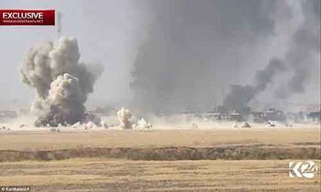 Quan doi Iraq giai phong 200 km2 gan thanh pho Mosul - Anh 1