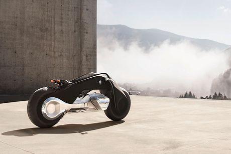BMW Motorrad ra mat moto tuong lai Vision Next 100 - Anh 1